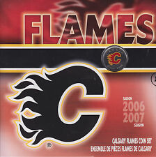 2007 Calgary Flames Coin Set - Royal Canadian Mint - Sale