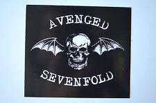 Avenged Sevenfold Sticker Decal (322) Rock Metal Car Bumper Window