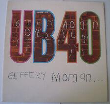 "UB40 - LP - ""GEFFERY MORGAN"" - 1984 - DEP INTERNATIONAL UK , NEAR MINT"