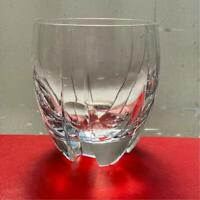 Baccarat Crystal glass Tumbler Neptune 1987 Japan limited Thomas Bastide No BOX