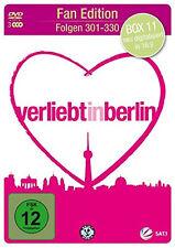 &B 3 DVDs * VERLIEBT IN BERLIN - BOX 11 - FOLGEN 301 - 330 FAN EDITION # NEU OVP