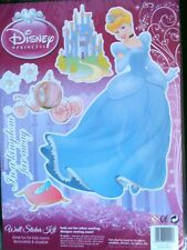 SET ADHESIFS 6 STICKERS DECORATION DISNEY PRINCESSE CENDRILLON CHAMBRE ENFANT