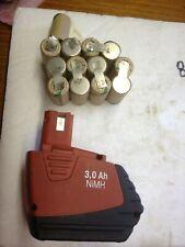 2 kit battery batterie bateria batterie akku hilti SFB155 3,3 😡(2 pack13 cells)