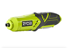 Ryobi  Lithium Cordless Electric Screwdriver Battery Charger With  2 Bits 1/4 in