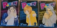 Punch by Rie Takada Vol 1-3 Shojo, Manga. English. Good Condition.