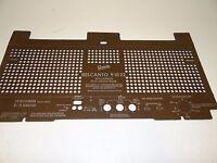 "Original Rückwand für Röhrenradio ""Graetz Belcanto 91022"" Back Panel W705"