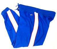 Tommy Hilfiger Sport Women's Track Pants XL Royal Blue Jogger Athletic Joggers