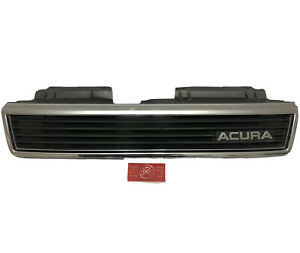 1989 Acura Legend OEM Front Grille 1G 89-90 USDM Sedan Honda Rare KA4 Emblem