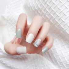 24PCS Fashion Fake Nail Tips False Nail Full Cover False Nail Art Tips Manicure