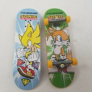 Finesse Sonic The Hedgehog & Tails Limited Tech Deck