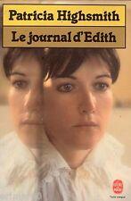 Le journal d'Edith / Patricia HIGHSMITH // Angoisse // Frisson