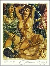 Kirnitskiy Sergey 2008 Exlibris C4 Mythology Judith and Holofernes Erotic 158