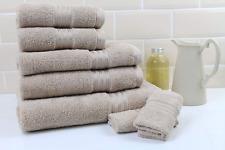 Restmor Ltd Supreme 7 Piece Towel Set 500GSM Egyptian Cotton Contains 2 Face 2 2