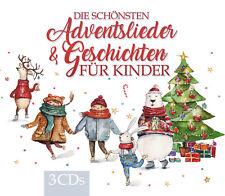 CD Chants de l'avent et Geschichten pour enfants d'Artistes divers 3CDs