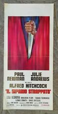Locandina IL SIPARIO STRAPPATO Hitchcock Paul Newman Julie Andrews TORN CURTAIN