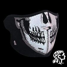 ZANheadgear Máscara facial de neopreno Moto Ski Esquí Bicicleta GLOW IN THE DARK
