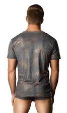 Croc Foil v-Neck Tee Shirt New Adult Mens Clothing Valentine Male Power XLarge