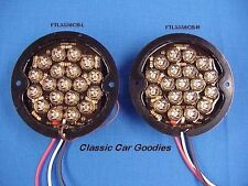 1933-1936 Ford LED Tail Light Inserts (2) 12V 1934 1935 Rod