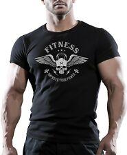 Mejore su poder Entrenamiento Gimnasio Culturismo Camiseta mejor entrenamiento ropa Soto
