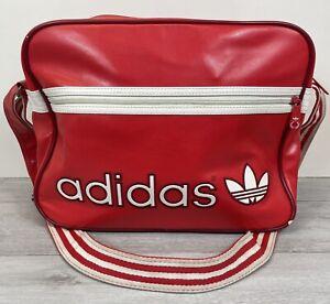 Adidas Airliner Messenger Bag RED AND WHITE - Originals Retro Bag