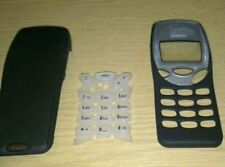 New For Nokia 3210 Front & Back Fascia Housing Cover Keypad Black