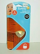 SAFETY FIRST Clearly Soft Corner Guards, Pack of 4
