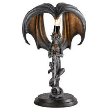 Dragon Warrior Table Lamp Anne Stokes 17 Inch Tall