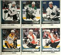 12 Card Rookie Lot 2017-18 Upper Deck Young Guns Flyers Chicago Stars Sharks