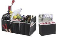 Car Boot Organizer Collapsible Trunk Storage Multipurpose Cooler Bag Pocket Box