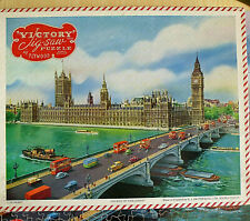 Victory Vintage Wooden Jigsaw .Houses of Parliament . Challenging
