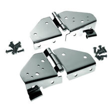 Jeep Windshield Hinges Pair Stainless Jeep CJ 76-86 Wrangler YJ 87-95 RT34017