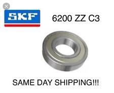 6200-2Z/C3 SKF Ball Bearing 6200 ZZ 10x30x9 mm deep groove ball bearing