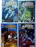AZTEK: THE ULTIMATE MAN (DC) (MORRISON) (MILLAR) (1996 Series) #1 th #4 Fine