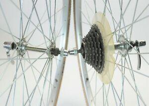 JOYTECH ARAYA PX-35 SHIMANO 6 SPEED ROAD BICYCLE 700c WHEELS SET 126 MM