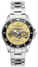 Geschenk für Fiat 600 Oldtimer Fahrer Fans Kiesenberg Uhr 6470