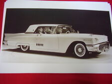 1958 FORD THUNDERBIRD HARDTOP   BIG   11 X 17  PHOTO   PICTURE
