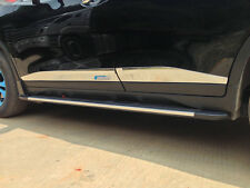 Chrome Body Door Sill Side Molding cover trim for 2014-2016 Nissan X-Trail Rogue
