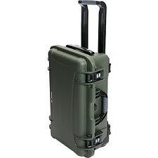 OD GREEN Nanuk 935 Elite carry on Case, no foam,  & Pelican TSA- 1510 Lock