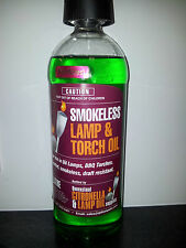 Lamp Oil 1 Litre Bottle - Scented and Coloured for Oil Lamps and BBQ Torches