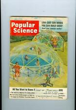 1966 Popular Science Magazine: Sun Domes/ Chinese Kites/ Dovetail Cutter/ Tents