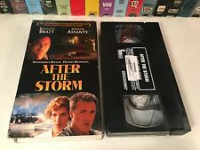 After The Storm TV Movie Thriller VHS 2001 Benjamin Bratt Armand Assante