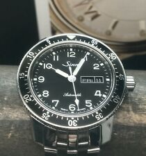 SINN 104 A ST SA Day Date Swiss Automatic 41mm Stainless Steel Bracelet German