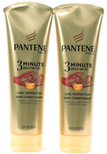 2 Pantene Pro-V 3 Minute Miracle Curl Perfection Miracle Curls Conditioning 8 oz