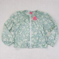 Kate Spade Splash Winbreaker Icy Agua Floral $198 Women's XL Windbreaker