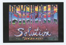 Alton Kelley 1990 Psychedelic Postcard Psychedelic Solution