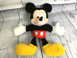 "Applause Disney 14"" Mickey Mouse Full Body Plush Puppet Stuffed"
