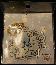Pokemon Japan Love Its Demo Alolan Vulpix Ninetales Keychain