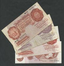 BANK OF ENGLAND - 10 sh  NOTES - MAIN TYPES - MULTI-LISTING (Banknotes)