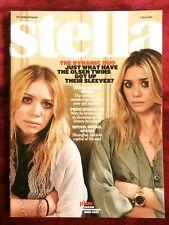 OLSEN TWINS Mary-Kate Ashley very rare UK magazine from 2008 Immodesty Blaize