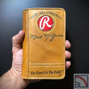 Rawlings Mark McGwire Baseball Glove Field Notes Cover